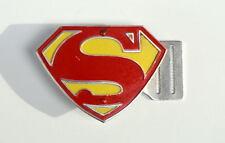 Kellogg's Corn Flakes MAIL PREMIUM - SUPERMAN Metal SHIELD BELT BUCKLE Rare 1954