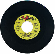 """SIDNEY BARNES  """"YOU'LL ALWAYS BE IN STYLE""""  NORTHERN SOUL CLASSIC"""