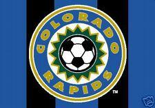 MAJOR LEAGUE SOCCER MLS FLAG COLORADO RAPIDS TEAM FLAG
