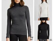 UNIQLO WOMEN Extra Warm HEATTECH Turtle Neck Long Sleeve T-Shirt S-XXL
