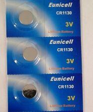 EUNICELL Lot de 3  Piles  LITHIUM 3v - CR1130