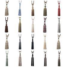 Harrison Drape Heritage Artisan Long Corded Tasselled Curtain Tieback Collection