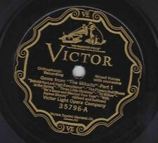 Victor Light Opera Co – 78 rpm Victor 35796: Gems from The Mikado (2 parts) E+