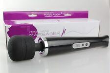 Vibrator Magic Wand 30 Stufen Akku Kabellos Massagestab Einstellbar Massagegerät
