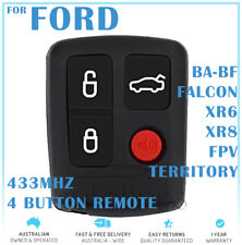 Ford BA BF Falcon 4 Button Remote Control - High Quality