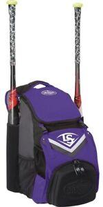 Louisville Slugger EBS7SP6 Purple Series 7 Stick Pack Bat Pack Backpack
