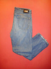 Hugo BOSS ALABAMA W38 L32 da uomo blu denim jeans B505