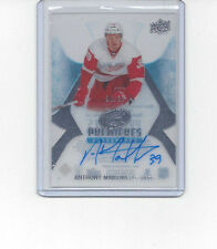 16-17 Upper Deck Ice Anthony Mantha Premieres Auto Rookie RC SP /99 RED WINGS