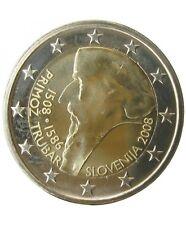 Pièce 2euros commémorative Slovenie2008  – Primoz Trubar