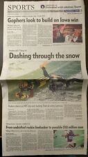 Green Bay Packers 12/28/20 St Paul Newspaper section vs Tennessee Titans