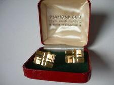 Diamond Men's Cufflinks 22 Carat