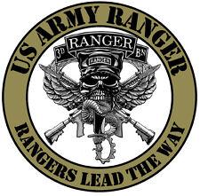 Enmarcado Us Military Insignia impresión – Us Army Ranger (imagen Cartel luchando Arte)