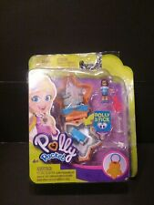 Polly Pocket Mini Compact With Polly/Super Stick 2018 New Open Package