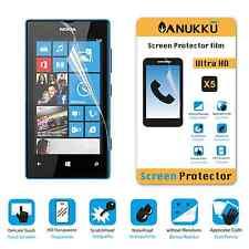 3x PELLICOLA per Nokia Lumia 520 FRONTE + PANNO PROTETTIVA DISPLAY