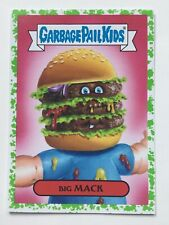 Garbage Pail Kids Topps Sticker 2016 American As Apple Pie Big Mack 4a Green