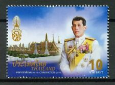 Thailand 2019 MNH King Vajiralongkorn Coronation 1v Set Royalty Stamps