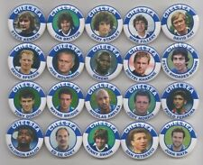 CHELSEA  FC LEGENDS  (SET  6 ) MAGNETS  X20    38mm  IN SIZE