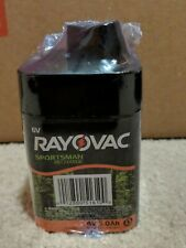 Lot of 5 Rayovac 6 Volt 5 Ah Sportsman Rechargeable Batteries Factory Sealed 6V