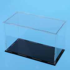 Clear Acrylic Display Case Box for Action Figure Model Doll Toys 24x12x15cm
