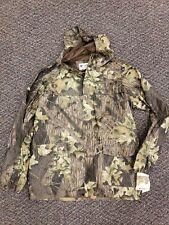 NWT Columbia Men's Medium Camo Ibex 2 pc Rainsuit Mossy Oak Breakup Camo Hunting