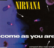 "CD MAXI 4 T NIRVANA   ""COME AS YOU ARE"""