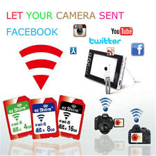 ez Share 8GB Class10 High Speed Wireless WIFI Share SD SDHC Camera Memory Card