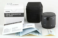 SIGMA Tele Konverter 2x TC-2001 Telekonverter für Canon