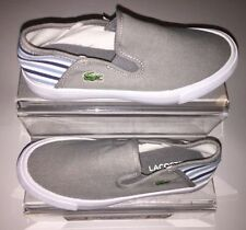 Lacoste Canvas Upper Casual Trainers Slip-on Shoes for Boys