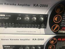 RSQ KA-2000 Mixing Amplifier Karaoke player
