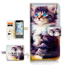 ( For iPhone 7 ) Wallet Case Cover P21574 Cat