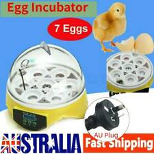 7 Egg Incubator Fully Automatic Digita Turning Chicken Duck Poultry Hatcher AU
