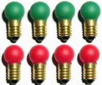 4 ea Switch Track Control BULBS 432G 432R for American Flyer S Gauge Trains