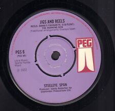 "STEELEYE SPAN ‎– Jigs And Reels (UK 1972 FOLK VINYL EP 7"")"