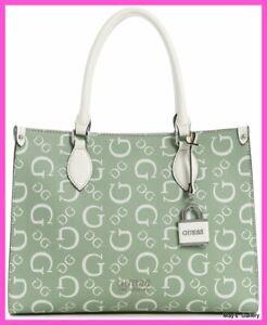 Guess Hand Bag Handbag Purse Wallet Satchel Tote Adlai shopping keychain