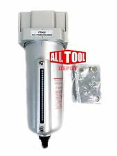 "1/2"" Compressed Air Line Moisture & Water Filter Trap Air Compressor Auto Drain"