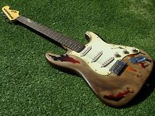 DY Guitars Rory Gallagher relic strat guitar