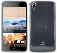 HTC Desire 830 // Guscio in Silicone Custodia Protettiva in Gomma Grigio TPU * Premium Qualità