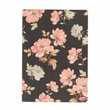 SASS & BELLE FRENCH ROSE VINTAGE FLORAL A5 NOTEBOOK BLANK JOTTER JOURNAL GIFT