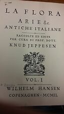 Jeppesen: Arie Et Antiche Italiane: Music Score