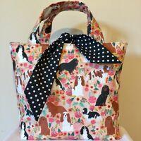 Cavalier King Charles Spaniel Dog Print Bag