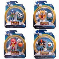 """Sonic the Hedgehog Action Figures Sonic Knuckles Tails Shadow Toy Gift Kids 4"""""""