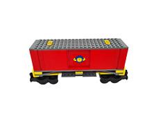 Lego 9V + RC Eisenbahn TRAIN 7939 Waggon Ladegut CITY CARGO WAGON CAR