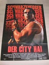 DER CITY HAI - A0 Filmplakat Poster XXL - ARNOLD SCHWARZENEGGER - RAW DEAL
