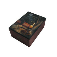Witching Hour Tarot Box Wicca Altar black cat witch craft witchcraft Lisa Parker