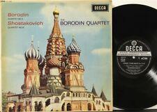 SXL 6036 WB ED1 1E Borodin string quartet #2, Shostakovich #8, Borodin Quartet