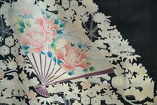 Vintage Japanese silk  Kimono  TOMESODE  from Japan 10-10