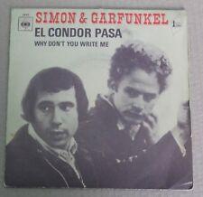 Simon & Garfunkel, el condor pasa / why don't you write me,  SP - 45 tours