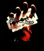 JUDAS PRIEST cd cvr BRITISH STEEL Official BABYDOLL SHIRT XL new