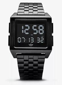 Adidas Men's Fashion Watch Archive M1 Z01 001-00 Black Stainless-Steel Quartz