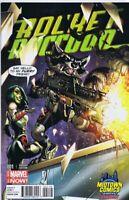 Rocket Raccoon Vol 2 #1 Cover B Midtown Exclusive J Scott Campbell Color Variant